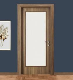 Ado 107 Boy Camlı Ahşap Kompozit Kapı
