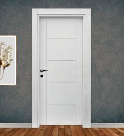 Ado Kapı 7500 Mat Lake Beyaz Mdf Kapı