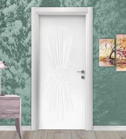 Model 5010 Desenli Camsız Lake Oda Kapısı