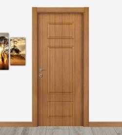Abd Ceviz Renkli Göbekli Melamin Kapı