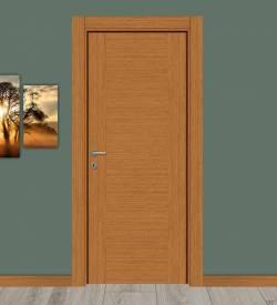 Bambu Renkli Camsız Panel Melamin Kapı