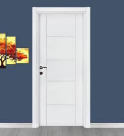 Beyaz H Model Melamin Iç Kapı