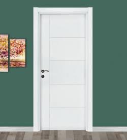 Beyaz Lh Model Melamin Kapı