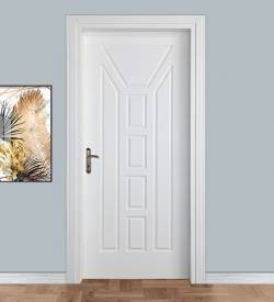 Model 102 Camsız Mdf Panel Oda Kapısı