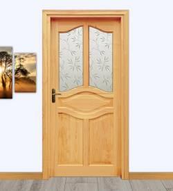 Model 103 Camlı Masif Kapı